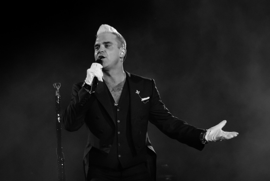 JT's Photo - Robbie Williams - Bråvalla 2015