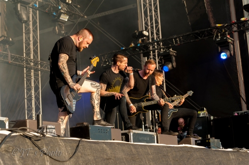 JT´s Photo - Raised Fist - Bråvalla 2017