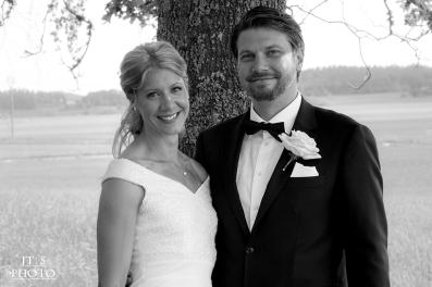 JT´s Photo - Elin & Daniel - Bröllop - Kuddby kyrka - Bröllopsfoto - Vigsel